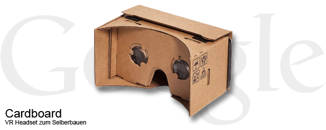 Google Cardboard mit Android