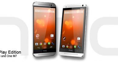 HTC one M8 und HTC One M7 Google Play Edition