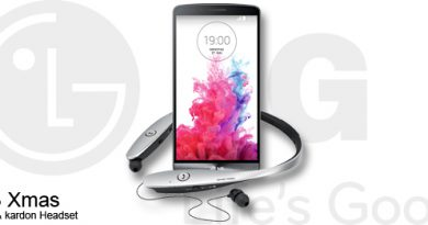 LG G3 Xmas Bundle mit harman & kardon Headset