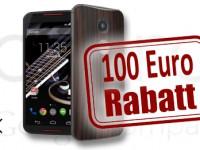 Motorola Moto X (2nd Gen.) mit 100 Euro Rabattaktion