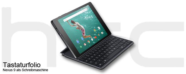 Nexus 9 Tastaturfolio