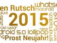 Vielen Dank und einen guten Rutsch ins Jahr 2015!
