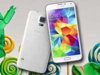 Samsung Galaxy S5 bekommt Android 5.0 Lollipop