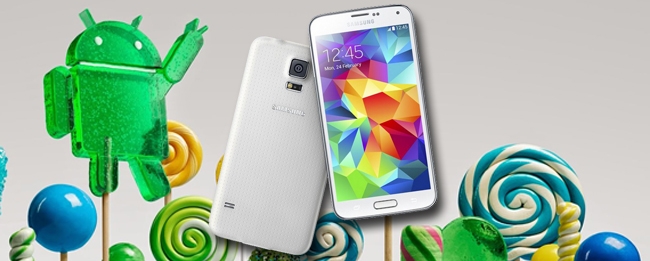 Samsung Galaxy S5 Android 5.0 Lollipop Update