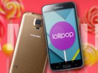 Samsung Galaxy S5: Lollipop-Update für freie und o2-Geräte