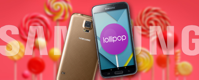 Samsung Galaxy S5 Lollipop-Update