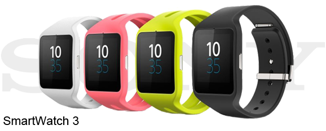 Android Wear 5.0.1 für die Sony SmartWatch 3