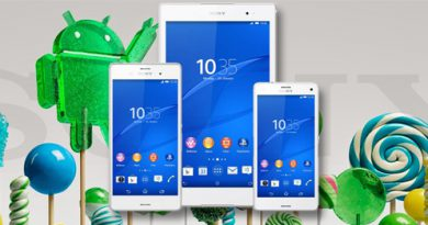 Sony Xperia Z3 Android 5.0 Lollipop