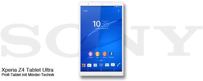 Sony Xperia Z4 Tablet Ultra Teaser