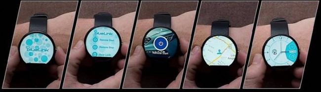 Hyundai Blue Link mit Android Wear