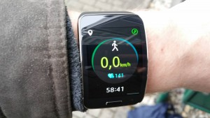 Samsung Gear S Test