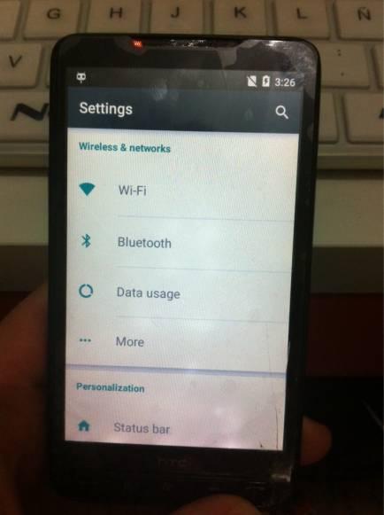 HTC HD2 mit CM12