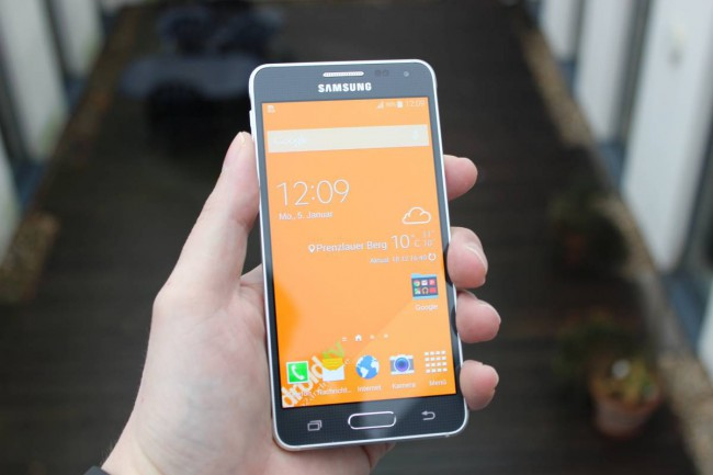 Samsung Galaxy Alpha Test