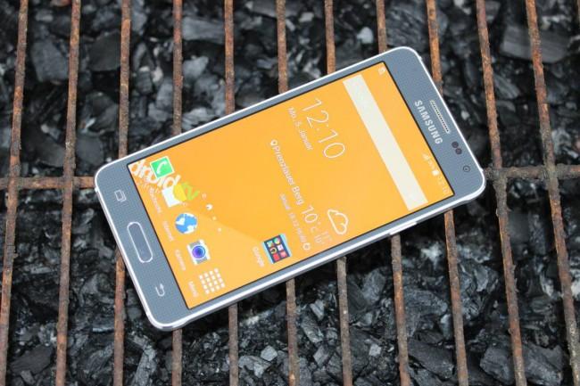 Samsung Galaxy Alpha Test