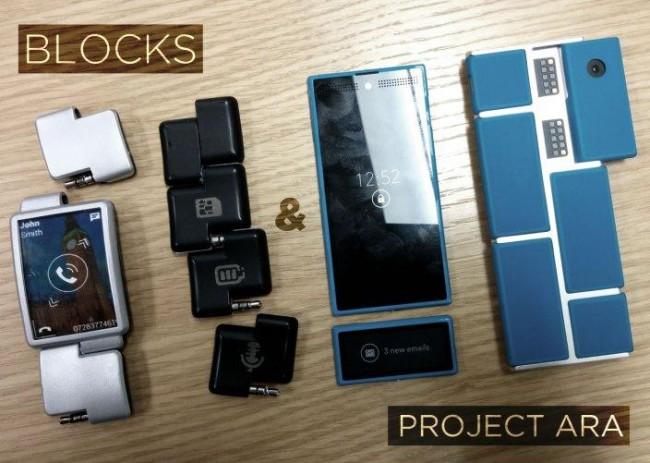 Projekt Ara und BLOCKS zusammen