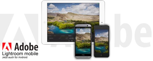 Adobe Lighroom mobile