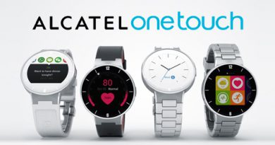 ALCATEL onetouch SmartWatch Teaser