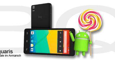 Android 5.0 Lollipop für BQ Aquaris
