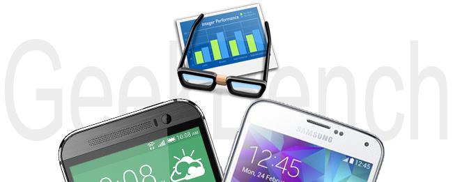 HTC One M9 vs. Samsung Galaxy S6 im GeekBench