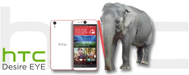 HTC Desire EYE Falltest