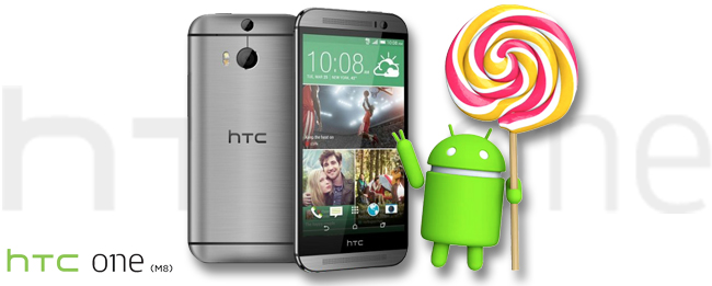 HTC One M8 mit Lollipop