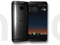 HTC One M9: Das echte Gerät in Gold fotografiert