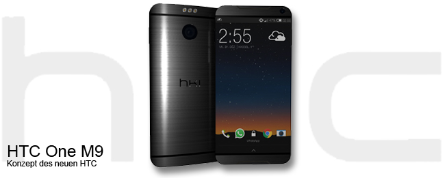 HTC One M9 HTC Hima Konzept
