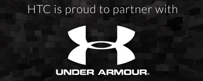 HTC und Under Armour Kooperatoin