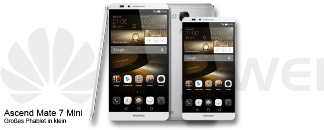 HUAWEI Ascend Mate 7 Mini Teaser