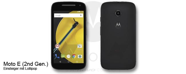 Motorola Moto E (2nd Gen.) Teaser