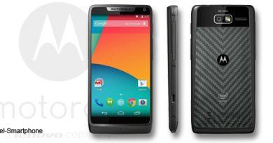 Motorola Razr i mit Android 4.4.2 KitKat