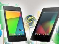 Nexus 7 3G und Nexus 7 LTE: Android 5.0.2 Lollipop ist da