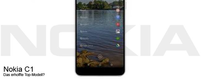 Nokia C1 Teaser