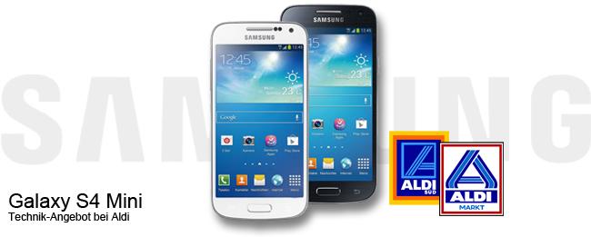 Samsung Galaxy S4 Mini bei Aldi