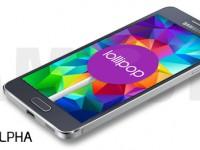 Samsung Galaxy Alpha: Android 5.0 Lollipop kurz vor dem Start