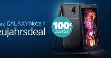 Samsung Neujahrsdeal