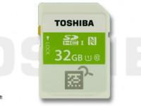 [CES 2015] Toshiba stellt SDHC mit NFC vor