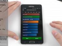 [Video] Samsung Galaxy Note 4 AnTuTu Benchmarktest