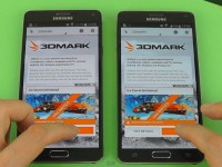 [Video] Samsung Galaxy Note 4 SM-N910 C vs. SM-N910 F - 3DMARK-Benchmarktest