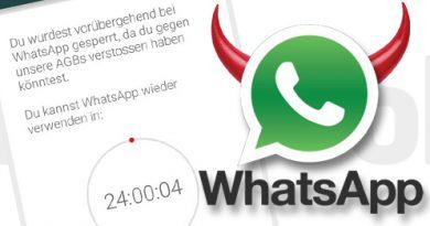 WhatsApp gegen Drittanbieter-Clients