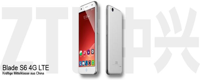 ZTE Blade S6 4G LTE
