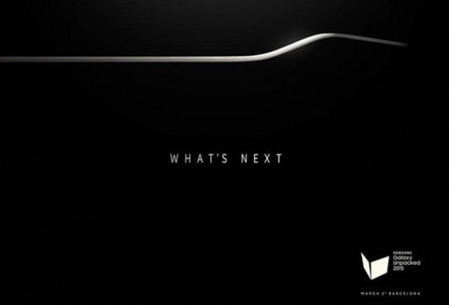 Samsung Galaxy S6 MWC 2015 Einladung
