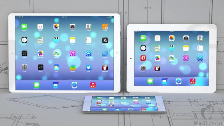 iPad Pro im Vergleich zum iPad und iPad mini