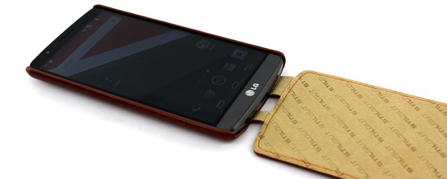 StilGut UltraSlim Leather Case für LG G3
