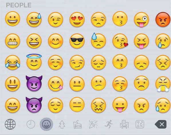 Emojis in iOS 8.3