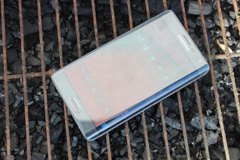 Samsung Galaxy Note Edge Test