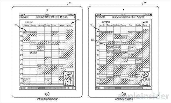 Apple-Patent für Mobile Data-Sharing in Echtzeit