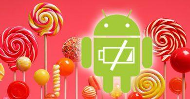 Akku-Verbrauch von Android 5.0 Lollipop