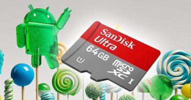 Android 5.0 Lollipop und die MicroSD