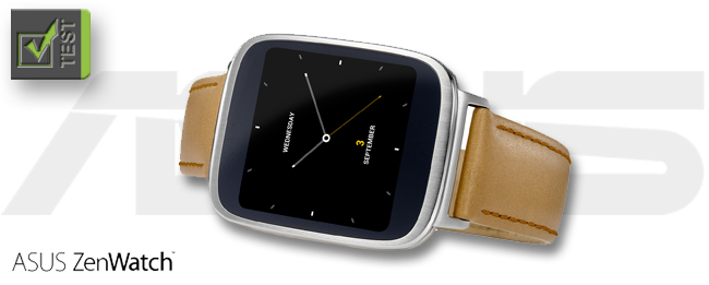 ASUS ZenWatch Test